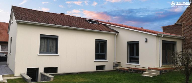 isolation thermique des murs ext rieurs li vin thermie. Black Bedroom Furniture Sets. Home Design Ideas
